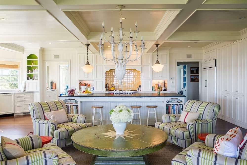 敞开式厨房是家人相聚的地方。(图片来源:WALLACE & CO. SOTHEBY'S INTERNATIONAL REALTY)