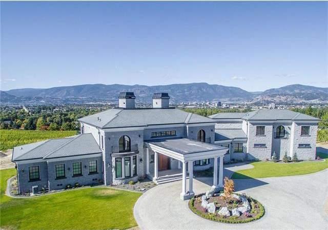 此处占地18.77英亩的庄园内正在建造一个全新的葡萄园,从房屋内可饱览山谷和湖泊美景,面积8000平方呎,带有23呎的挑高天花板,使用大量花岗岩、大理石等高档建材。查看房源详情(Coldwell Banker Horizon Realty)