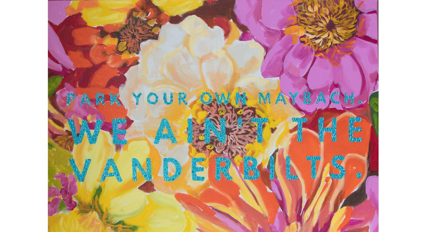 Park Your Own Maybach We Ain't The Vanderbilts by Ashley Longshore