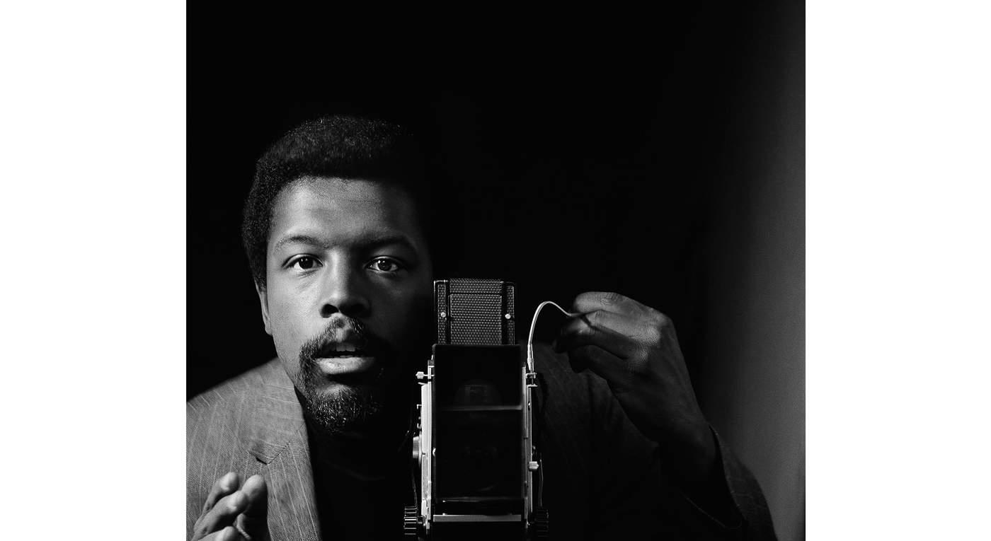 Untitled (Self Portrait) by Kwame Brathwaite
