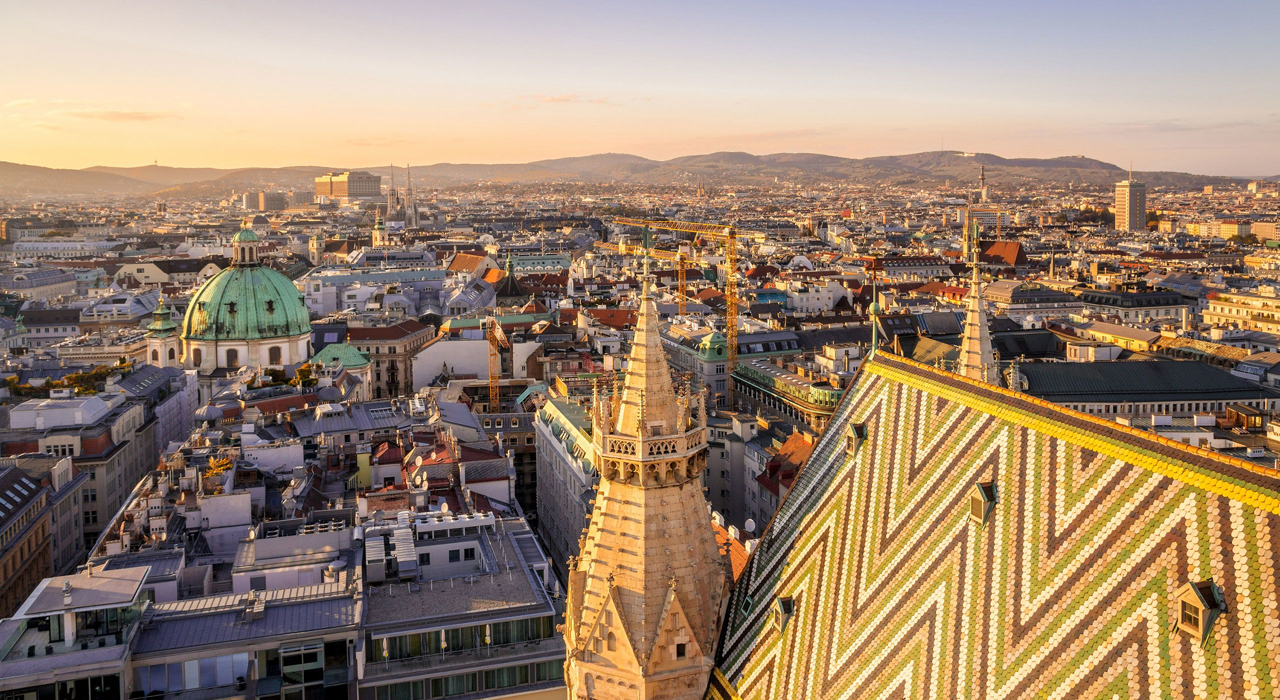 In vienna the inner city is the home of luxury mansion global