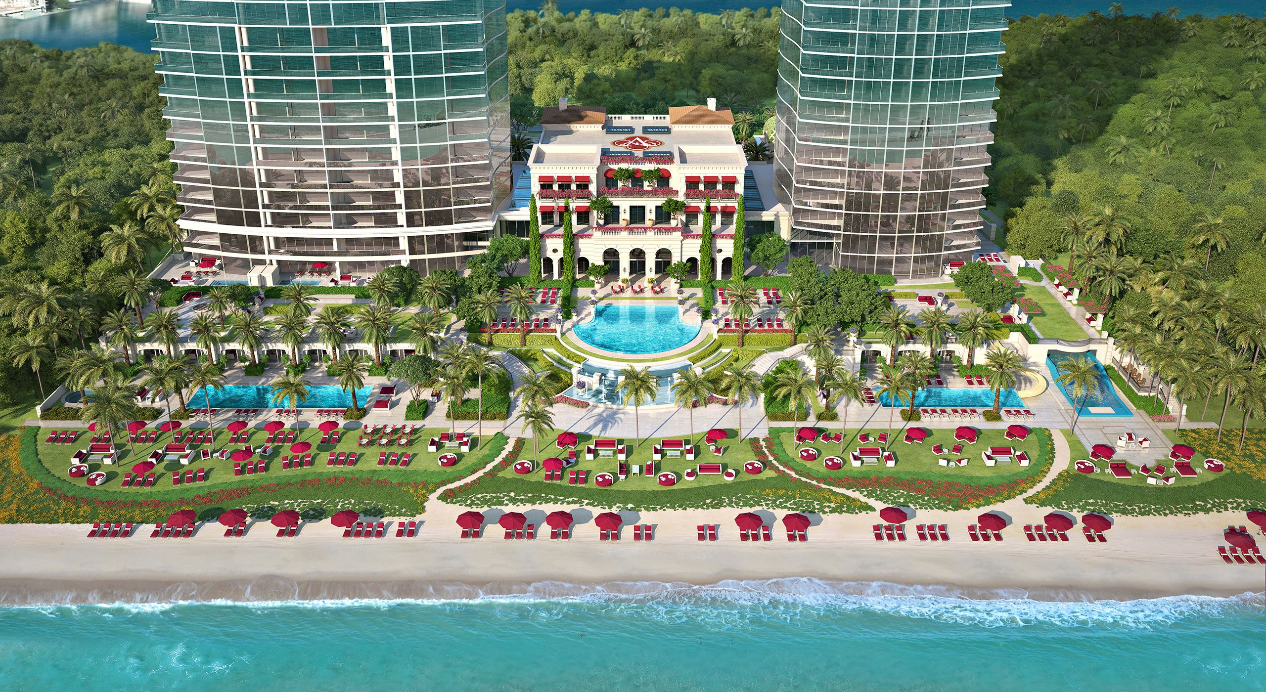 Ultra Luxury Acqualina Residences In Miami S Sunny Isles Beach Offer A Unique Contemporary Brand Of Oceanfront Elegance