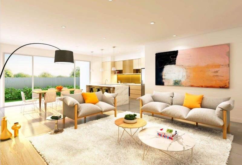 内部客厅效果图。(图片来源:Kiki Jiang)