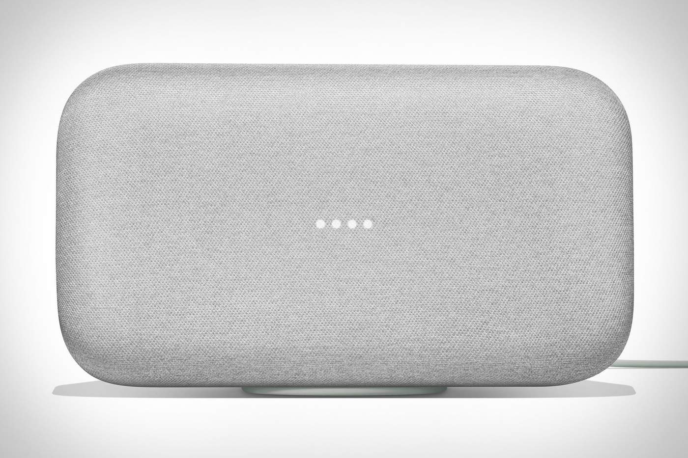 The Continued Onslaught of Smart SpeakersGoogle Home Max
